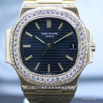 Patek Philippe Nautilus 3800/1 in 18K Gold Diamant Vollbesatz ...