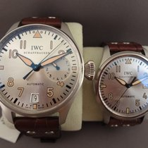 IWC Big Pilots Father And Son Platinum Lim Edition Platinum