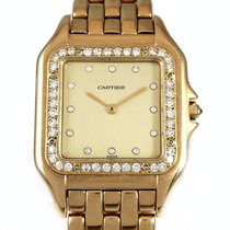 カルティエ (Cartier) PANTHERE Y.G.Rare Champagne Diamond Dial  B&P