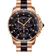 Certina DS First Lady Keramik Chrono Damenuhr C014.217.33.051.00