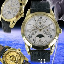 Omega Calendrier Perpetuel Gelbgold Louis Brandt