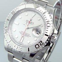 롤렉스 (Rolex) 116622 Steel Platinum Yachtmaster Mens 40 Mm...