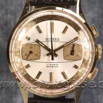 Winsex Vintage 1960`s 18kt. Pink Gold Chronograph- Cal....