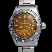 Rolex Submariner 6538 Big Crown With Brown Dial