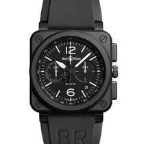 Bell & Ross BR-03-94-BLACK-MATTE BR 03-94 Chronograph in...