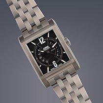 Oris Rectangular Titan titanium automatic day and date watch