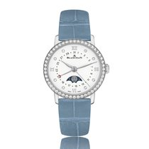 Blancpain Women Manual Wind Stainless Steel White Dial Female...