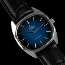 Omega 1977 Constellation Mens Midsize Quartz Watch, Quick-Setting