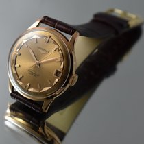 Longines CONQUEST AUTOMATIC 18K GOLD MINT CONDITION