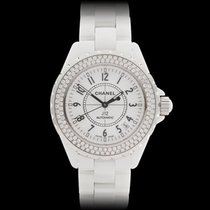 Chanel J12 White Ceramic Ladies H0969