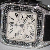 Cartier Santos 100 XL Chronograph Diamonds