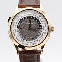 Patek Philippe Complications World Time Rose Gold Watch Brown...