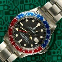 Rolex GMT Master 1675 pepsi plexi 1970