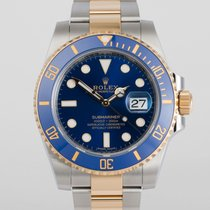 "Rolex Submariner Date New 5 Year Warranty ""Gold &..."