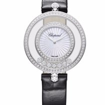 Chopard Happy Sport Icons 18K White Gold & Diamonds Ladies...