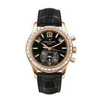 Patek Philippe 5961R-001 Annual Calendar with Baguette Diamond...