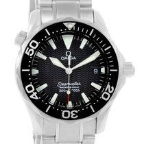Omega Seamaster Midsize 300m Steel Mens Watch 2262.50.00 Box...