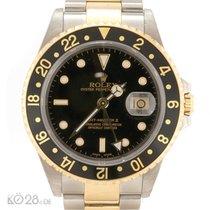 Rolex GMT Master II 16713 Steel-Gold B+P 06/2002