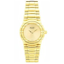 Piaget 15031 Tanagra 24mm in Yellow Gold with Diamond Bezel -...
