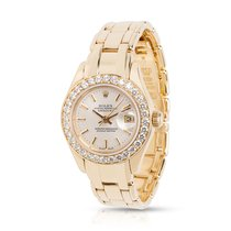 Rolex Pearlmaster 69298 Women's Watch in Yellow Gold