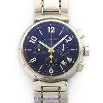 Louis Vuitton Chronograph Tambour Men's Watch Pre-owned