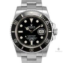 Rolex Submariner Stainless Steel Black Dial Ceramic Black...
