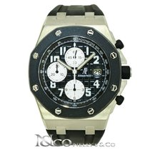 Audemars Piguet Royal Oak Offshore Rubberclad in Stainless Steel