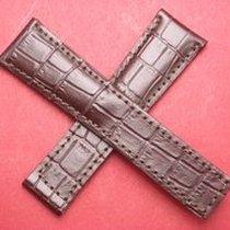 Leder-Armband Kroko-Calf 22mm im Verlauf auf 18mm, auch...