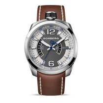 Bomberg Herrenuhr Bolt-68 BS45GMTSS.001.3