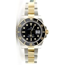 Rolex Submariner 116613 Heavy Band Black Cerachrom Bezel and...