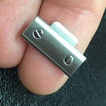 Cartier link maglia santos medio medium acciaio steel