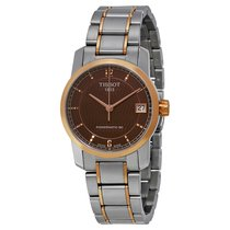 Tissot Ladies T0872075529700 T-Classic Titanium Powermatic80...