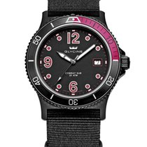 Glycine COMBAT SUB BLACK AND RED 3913-99-TB99 QUARTZ MOVEMENT
