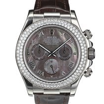 Rolex DAYTONA 116589 RBR WHITE GOLD WITH DIAMONDS