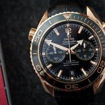 Omega Seamaster Planet Ocean Chrono 18k Rose Gold
