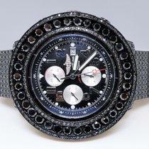 Breitling New Mens New Breitling Super Avenger Black 57 Mm...