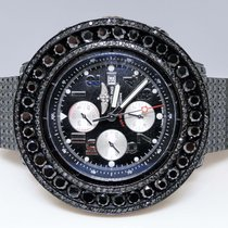 Breitling New Mens New Breitling Super Avenger Black 57 Mm...