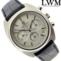 Zenith El Primero 01.0210.415 cronografo silver dial 1973