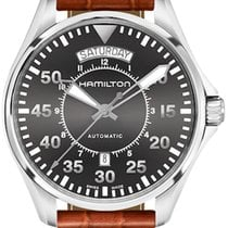 Hamilton Khaki Aviation Pilot Day Date Automatik H64615585