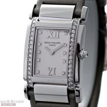 Patek Philippe TWENTY-4 Ref-4920G-010 18k White Gold Diamond...