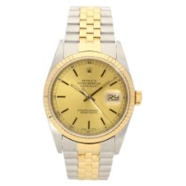 Rolex Datejust 16233 – Gents Watch – Champagne Dial - 2003