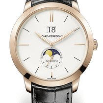 Girard Perregaux 1966 LARGE DATE AND MOON PHASES Pink Gold...