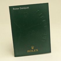Rolex Datejust Manual Info Booklet 2005 German