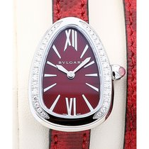 Bulgari Serpenti 27 Gemstone Red Dial