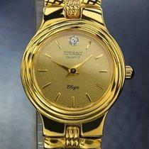 Tugaris Watch Tugaris Swiss Luxury Lady Eliza 24K Gold-Plated...