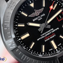 Breitling Men's Avenger Blackbird 44 Black Titanium on...