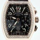 Franck Muller Conquistador King Chronograph Rose-gold [Diamond...