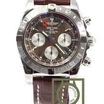 百年靈 (Breitling) Chronomat 44 GMT Chronograph Brown Dial...
