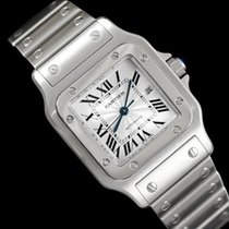 Cartier Santos Automatique Mens Bracelet Watch, Stainless...