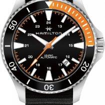 Hamilton Khaki Navy H82305931 Sportliche Herrenuhr 80h...